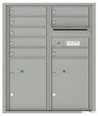 Florence 4C Mailboxes 4CADD-08 Silver Speck