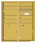 Florence 4C Mailboxes 4CADD-09 Gold Speck