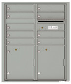 Florence 4C Mailboxes 4CADD-09 Silver Speck