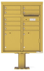 Florence 4C Pedestal 4CADD-09-P Gold Speck