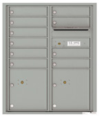 Florence 4C Mailboxes 4CADD-10 Silver Speck