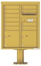 Florence 4C Pedestal 4CADD-10-P Gold Speck