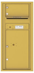 Florence 4C Mailboxes 4CADS-01 Gold Speck