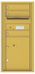 Florence 4C Mailboxes 4CADS-03 Gold Speck