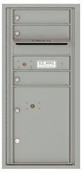 Florence 4C Mailboxes 4CADS-03 Silver Speck