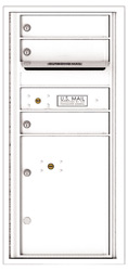 Florence 4C Mailboxes 4CADS-03 White