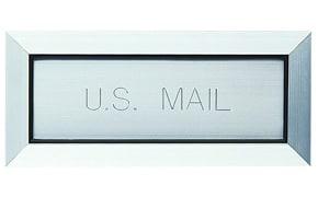 Florence Letter Drop Anodized Aluminum