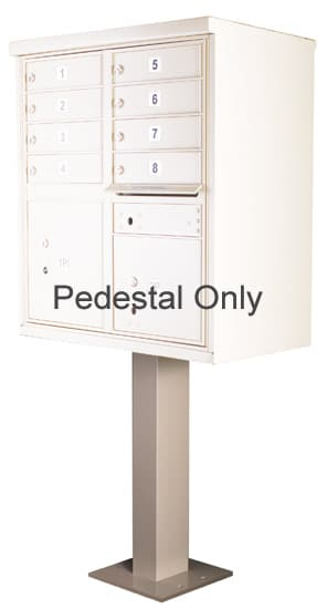 Pedestal for 8-12 Door CBU Cluster Box Units – 91129