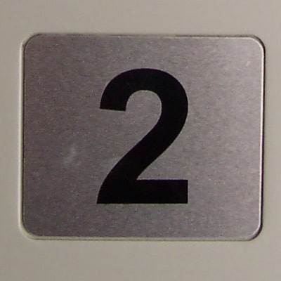 Replacement Number Decal Florence 4C Mailboxes
