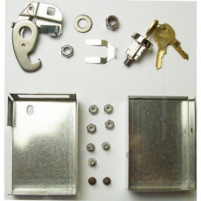 Replacement Parcel Locker Lock Kit for Florence CBU Mailboxes – K91610