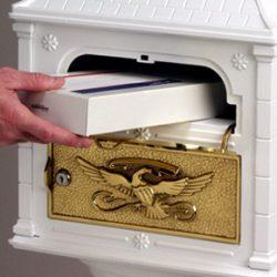 Gaines Classic Pedestal Mailbox Standard Slot