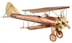 Good Directions Biplane Weathervane Details