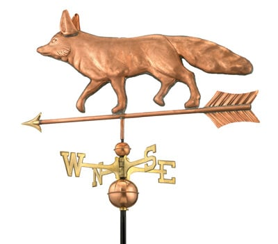 Good Directions Copper Fox Weathervane