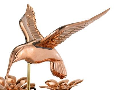 Good Directions Hummingbird Weathervane Details