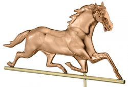 Good Directions Large Horse Weathervane Details
