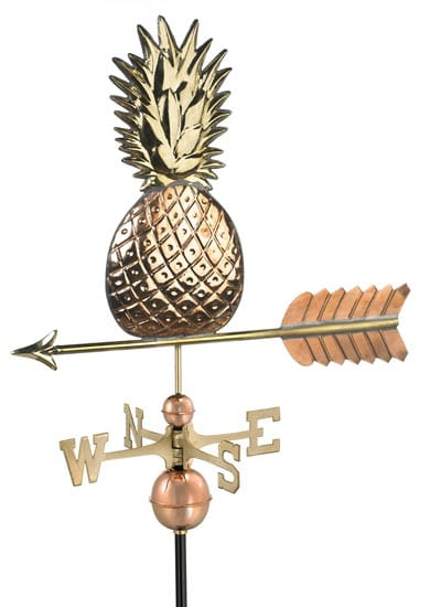 Good Directions Copper Pineapple Weathervane