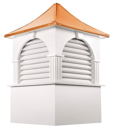 GoodGood Directions Farmington White Vinyl Cupola
