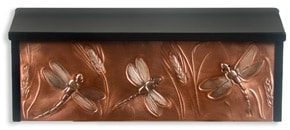 Henzti Wall Mount Mailbox Dragonfly Wheat