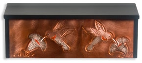 Henzti Wall Mount Mailbox Hummingbirds