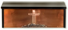 Henzti Wall Mailbox Old Rugged Cross