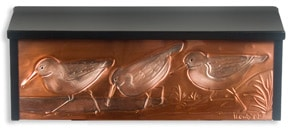 Henzti Wall Mount Mailbox Plovers