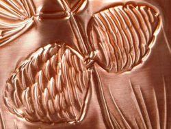 Longfellow Pines Waste Basket Close Up