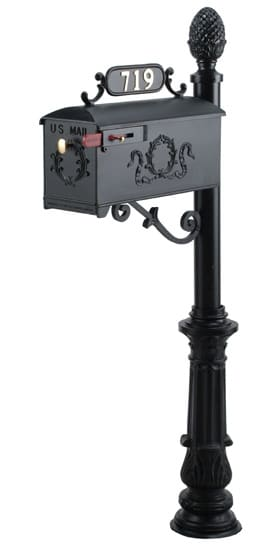 Imperial 719 Mailbox and Post