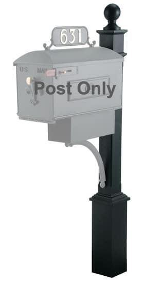 Imperial Systems 6 Mailbox Post