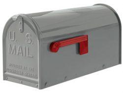 Janzer Mailboxes Gloss Grey