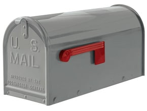 Janzer Mailboxes Gloss Grey