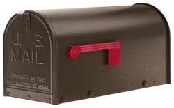 Janzer Mailboxes Residential Post Mount