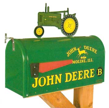 John Deere Classic Tractor Novelty Mailbox