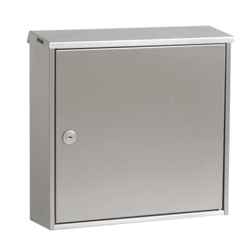 Knobloch Chicago Stainless Locking Wall Mount Mailbox