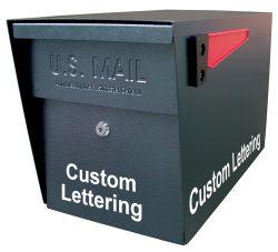 Mail Boss Custom Lettering