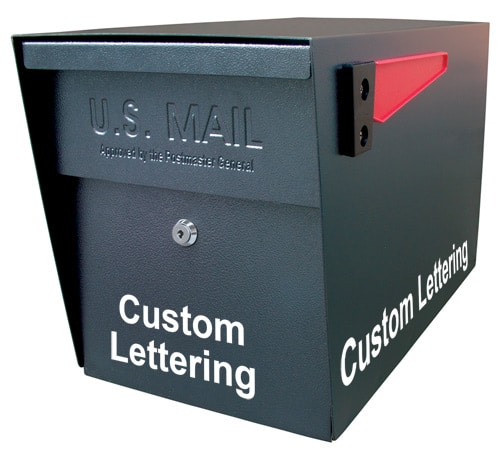 Mail Boss Custom Lettering