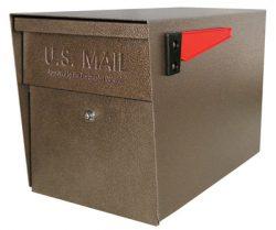 Mail Boss Post Mount Locking Mailbox