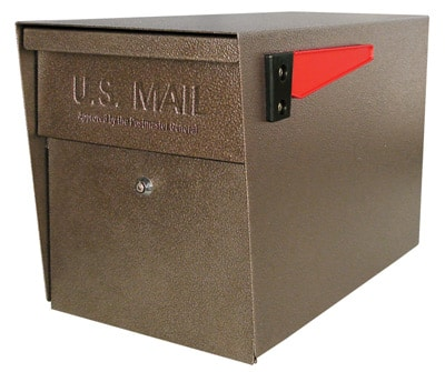 Mail Boss Post Mount Locking Mailbox