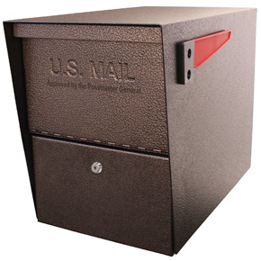 Mail Boss Package Master Mailbox Bronze
