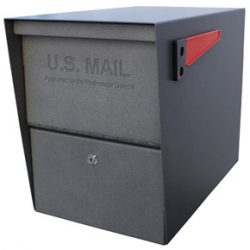 Mail Boss Package Master Mailbox Granite