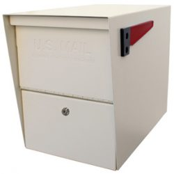 Mail Boss Package Master Mailbox White