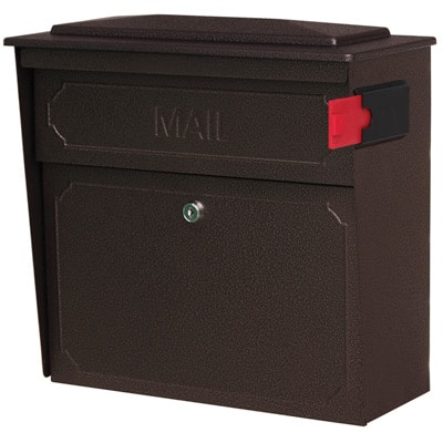 Mail Boss Townhouse Wall Mount Locking Mailbox