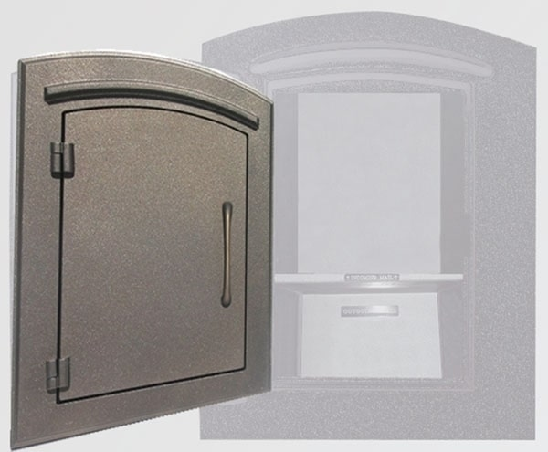 Manchester Locking Wall Mount Mailbox Product Image