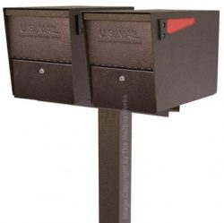 Mail Boss Package Master Dual Post