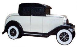 1920 Antique Car Novelty Mailbox