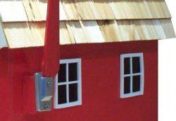 Pinehill Woodcrafts Barn House Close Up
