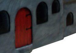 Pinehill Woodcrafts Cartoon House Close Up