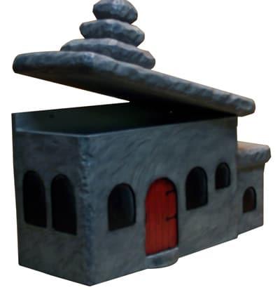 Cartoon House Novelty Mailbox