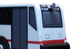 Pinehill Woodcrafts City Bus Close Up