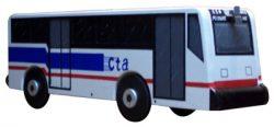 City Bus Novelty Mailbox