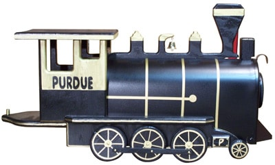 College Train Engine Novelty Mailbox